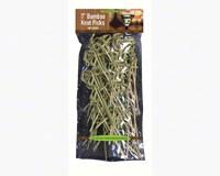 7 inch Bamboo Knot Picks. 100 ct-NWEN438968