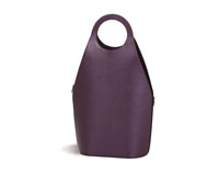 Soleil Double Wine Tote - Purple Shimmer-OAKPSL706PS