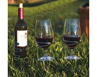 Handy Holders Combo (2 Wine Glass holders, 1 Bottle Holder)-OAKPSM163