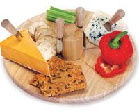 Salerno Cheese Board-OAKPSM174