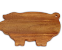 Pig Cutting Board-OAKPSM194