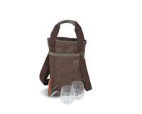 Omega Single Bottle Bag - Expresso-OAKPSM217ES