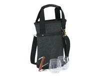 Omega Single Bottle Bag - Grey-OAKPSM217GR