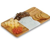 Crema Marble Cutting Board-OAKPSM554