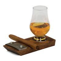 Glencairn Whiskey & Cigar Coaster-OAKPSU749