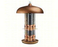 Top Flight Copper Triple Tube Feeder-OPUS7103