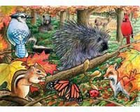 Eastern Woodlands Tray Puzzle 35 piece Puzzle-OM58801