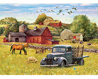 Summer Afternoon on the Farm 1000 pc Puzzle-OM80002