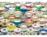 Tea Cups Puzzle, 1000 piece Puzzle-OM80034
