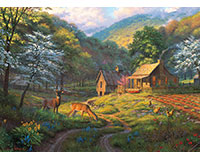 Country Blessings 1,000 pc Puzzle-OM80045