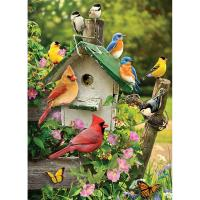 Summer Birdhouse 1000 pc-OM80126