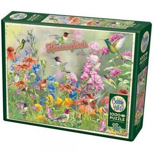 Hummingbirds 1000 Piece Puzzle