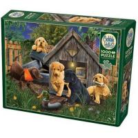Cobble Hill 1000 Piece Puzzle - in The Doghouse-OM80271