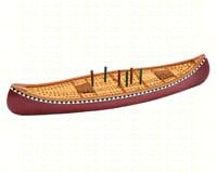 Canoe Cribbage Board-OUT99883