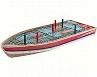 Tin Boat Cribbage Board-OUT99886