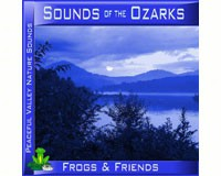 Sounds of the Ozarks Frogs & Friends CD-PVP101