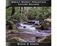Great Smoky Mountain Birds & Creek CD-PVP103