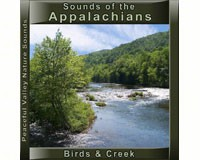 Sounds of the Appalachians Birds & Creek CD-PVP106