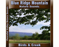Blue Ridge Mountain Birds & Creek CD-PVP108