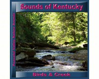 Sounds of Kentucky Birds & Creek CD-PVP109