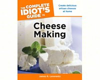 The Complete Idiot's Guide to Cheese Making-PG9781615640096