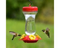 16 oz Top-Fill Glass Hummingbird Feeder-PP131TF