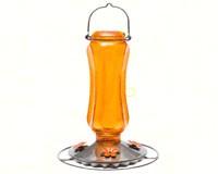 Vintage Carnival Glass Oriole Feeder-PP8135