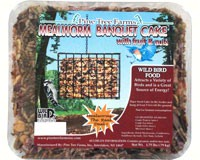 Mealworm Banquet Large Seed Cake 7.5oz-PTF1341