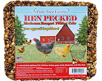 Hen Pecked Mealworm Poultry Cake 1.75 lb-PTF4000
