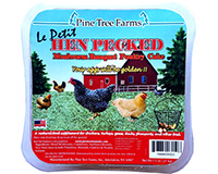 Hen Pecked Mealworm Poultry LePetit Cake 7.5 oz-PTF4002
