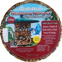 Le Petit Mealworm Classic Seed Log 2 pack-PTF8034