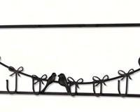 Bird Wall 6-Hooks-PTECWH01DB