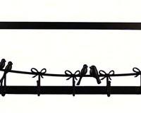 Bird Wall 9-Hooks-PTECWH01DBGR