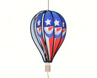 Vintage Patriotic 18 inch Hot Air Balloon-PD26402