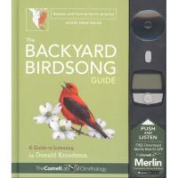 The Backyard Birdsong Guide Eastern and Central North America by Donald Kroodsma-PR194364501
