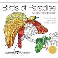 Birds of Paradise Coloring Book by Andrew Leach and Tim Laman-PR1943645381
