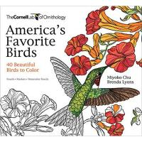 America's Favorite Birds Coloring Book by Miyoko Chu and Brenda Lyons-PR1943645411