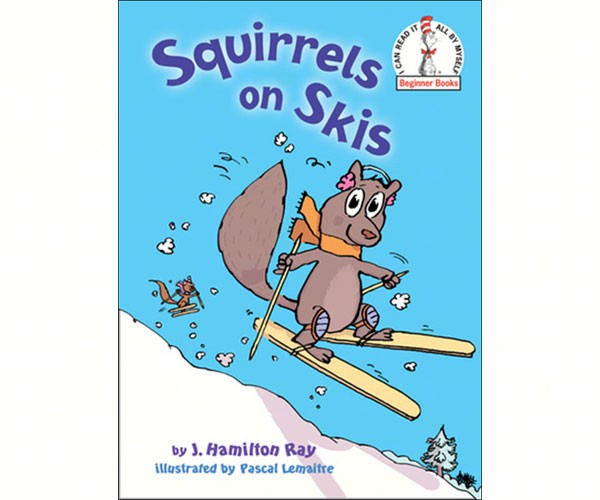 Squirrel on Skis by Hamilton Ray