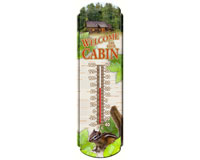 Welcome to Our Cabin Thermometer-RAI18953