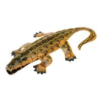 Alligator Wall Decor 11 inch Brown-REGAL05535
