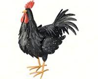 Black Rooster Large-REGAL10193