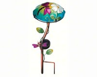 Solar Mushroom Stake Dragonfly-REGAL10342