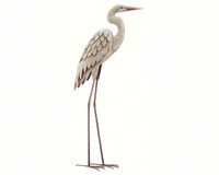 Standing Art Large Egret-REGAL10589