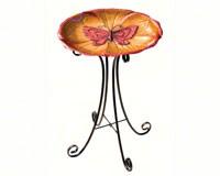 Bird Bath with stand Butterfly-REGAL10606