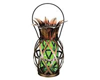 Solar Pineapple Lantern - Green-REGAL11866
