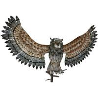 Owl Wall Decor Wings Up-REGAL12448