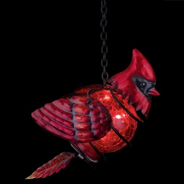 Bird Solar Lantern Cardinal