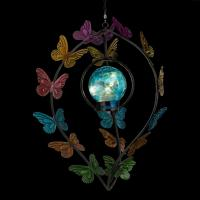 Hanging Solar Wind Spinner Butterflies Spinner-REGAL12555