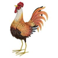 Sunburst Rooster Decor Medium-REGAL13002