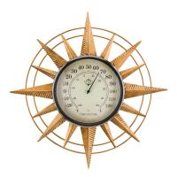 Thermometer Wal Decor Compass-REGAL13108